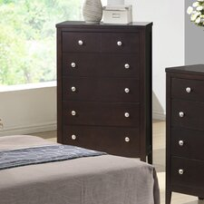 Lily 5 Drawer Chest