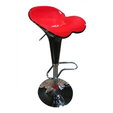 "Petal 30"" Adjustable Bar Stool"
