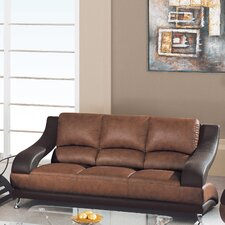 <strong>Global Furniture USA</strong> Zoe Leather Sofa