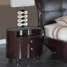 Evelyn 2 Drawer Nightstand