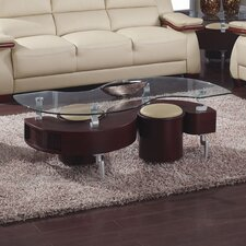 Sarah Coffee Table with Stool