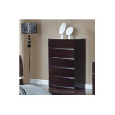 <strong>Global Furniture USA</strong> Aurora 5 Drawer Chest
