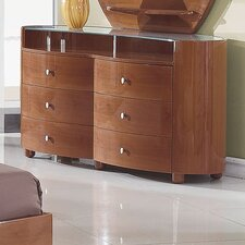 <strong>Global Furniture USA</strong> Evelyn 6 Drawer Dresser