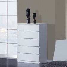 <strong>Global Furniture USA</strong> Aria 5 Drawer Chest