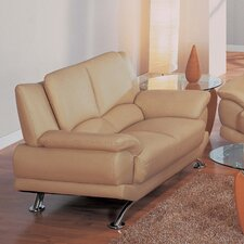 Rogers Leather Loveseat