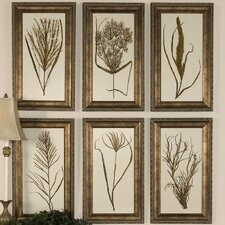 <strong>Uttermost</strong> Wheat Grass Wall Art (Set of 6)