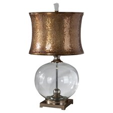 "Marcel 31"" H Table Lamp with Drum Shade"