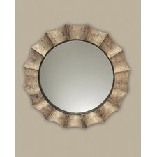 <strong>Uttermost</strong> Gotham Round Distressed Sunburst Wall Mirror