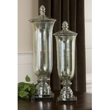 Gilli 2 Piece Glass Container Set