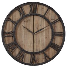 "Oversized 30"" Powell Wall Clock"