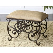 <strong>Uttermost</strong> Anjali Forged Metal Bench