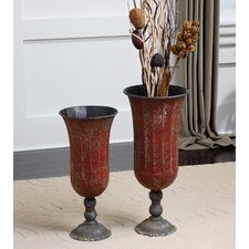 Gilroy 2 Piece Vase Set
