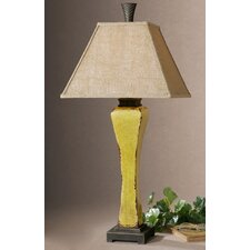 "Oratino 33"" H Table Lamp with Square Shade"