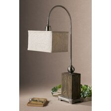 "Abilene 30"" H Table Lamp with Rectangle Shade"