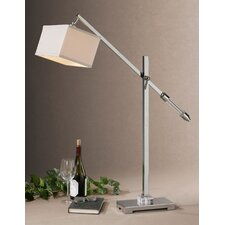"Waldron 46"" H Table Lamp with Rectangle Shade"