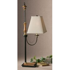"Rubiera 39.5"" H Table Lamp with Square Shade"