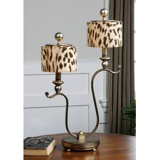 "Malawi 25.5"" H Table Lamp with Drum Shade"