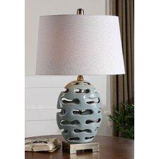 "Turkana 25.5"" H Table Lamp with Oval Shade"