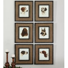 6 Piece Special Friends Wall Art Set