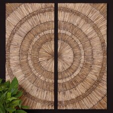 Lanciano Wood Wall Art (Set of 2)