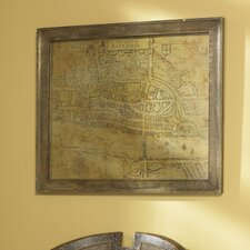 <strong>Uttermost</strong> The Cittie of London Framed Wall Art