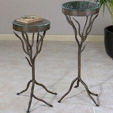 2 Piece Esher Plant Stand Set