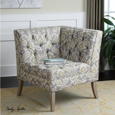 <strong>Uttermost</strong> Meliso Tufted Corner Chair