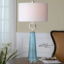 """Navier 34"""" H Table Lamp with Drum Shade"""