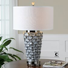 "Petalo 28"" H Table Lamp with Drum Shade"