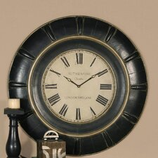 "<strong>Uttermost</strong> Oversized 37"" Rudy Wall Clock"
