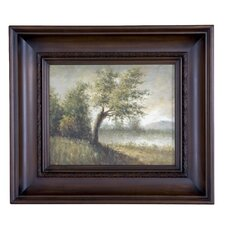 Handpainted Pastoral Framed Art