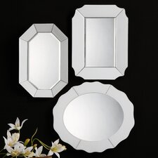 3 Piece Bianco Mirror Set