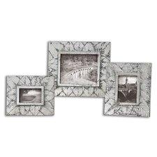 3 Piece Foliage Picture Frames Set