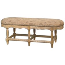 L'Artiste Wood Entryway Bench