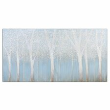"""""""Trees in the Mist"""" Original Painting on Canvas"""