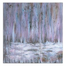 """""""Showers of Purple"""" by Grace Heyock Original Painting on Canvas"""