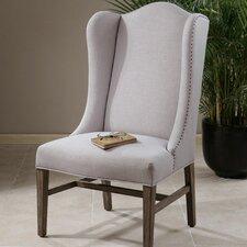 Aleela Linen Wingback Chair