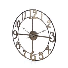 "Oversized 32.25"" Delevan Wall Clock"