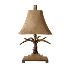 "Stag Horn 32"" H Table Lamp"