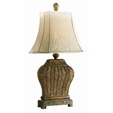 """Augustine 30"""" H Table Lamp with Bell Shade"""