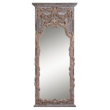 <strong>Uttermost</strong> Adalina Mirror in Antiqued Gold Leaf