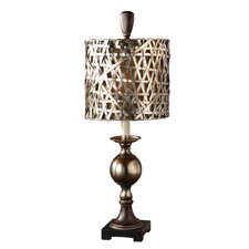 "Alita 32"" H Table Lamp with Drum Shade"
