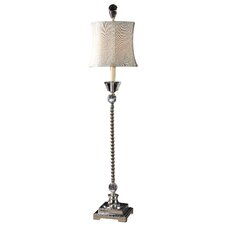 "Sherise 35"" H Table Lamp with Bell Shade"