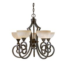 Legato 5 Light  Chandelier