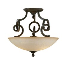 Legato 3 Light Semi Flush Mount