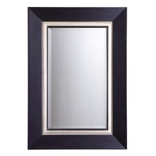 <strong>Uttermost</strong> Warhol Beveled Vanity Mirror in Matte Black