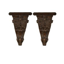 Mora Decorative Accent Shelves (Set of 2)