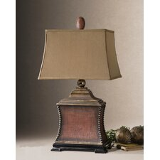"Pavia 33"" H Table Lamp with Rectangle Shade"