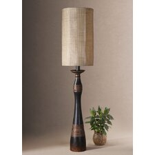 "Dafina 45"" H Table Lamp with Drum Shade"