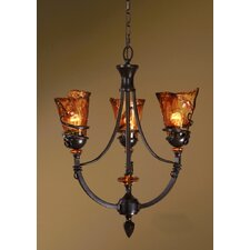 Vitalia 3 Light Chandelier